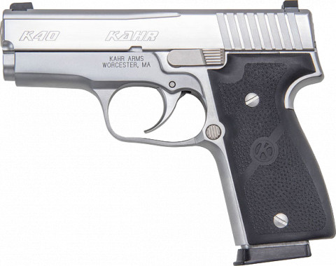 Kahr K40 facing left