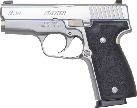 Kahr K9 facing left