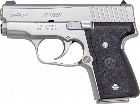 Kahr MK9 facing left