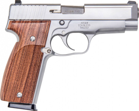 Kahr T40 facing right