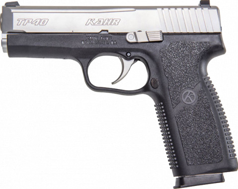 Kahr TP40 facing left