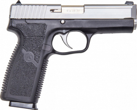 Kahr TP9 facing right
