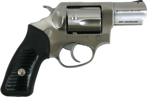 "Ruger SP101 2.25"" facing right"