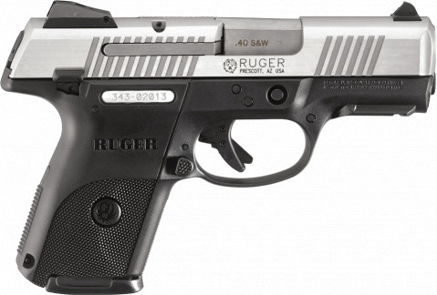 Ruger SR40c facing right