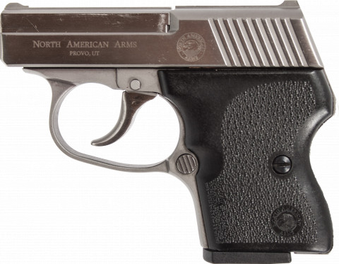 North American Arms Guardian 32 ACP facing left