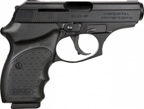 Bersa 380 CC facing right