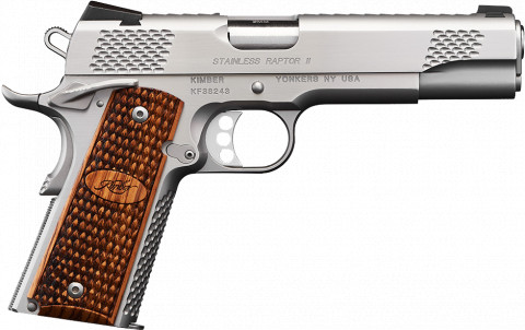 Kimber 1911 facing right