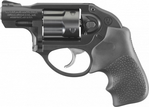 Ruger LCR facing left