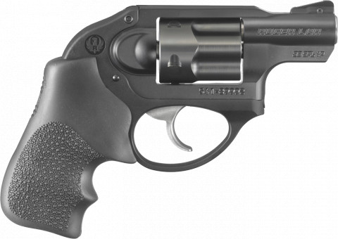 Ruger LCR facing right