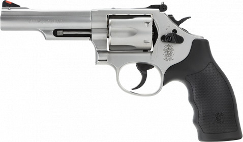 Smith & Wesson Model 66 facing left