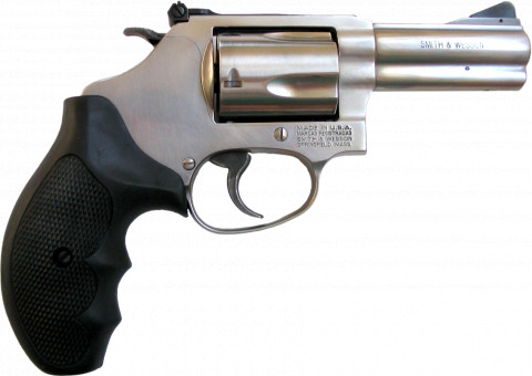 "Smith & Wesson Model 60 3"" facing right"