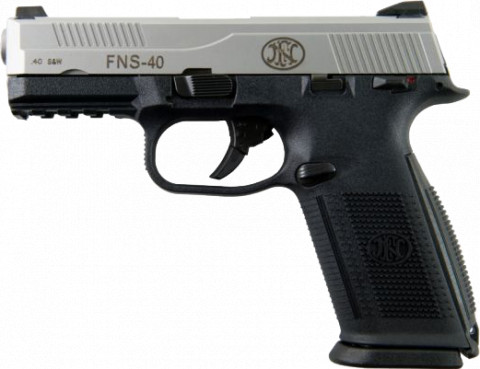 FN FNS-40 facing left