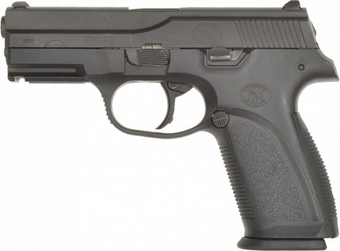 FN FNP-9 facing left