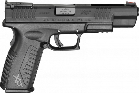 "Springfield XD-M 5.25"" Competition facing right"