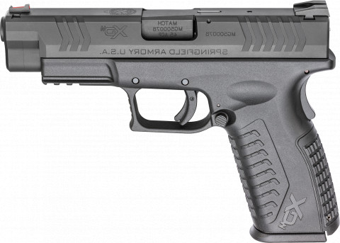 "Springfield XD-M 4.5"" facing left"