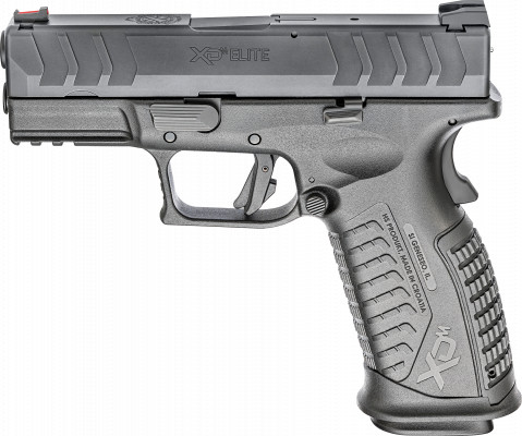 "Springfield XD-M Elite 3.8"" facing left"