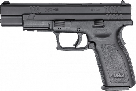 "Springfield XD 5"" Tactical facing left"