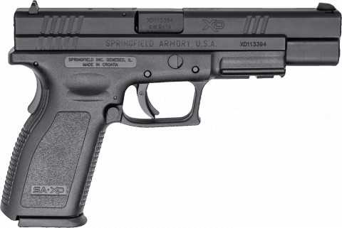 "Springfield XD 5"" Tactical facing right"