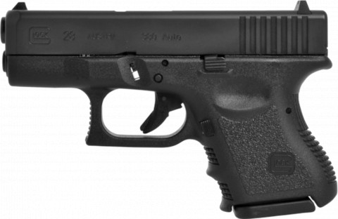 Glock G28 facing left