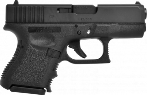 Glock G28 facing right