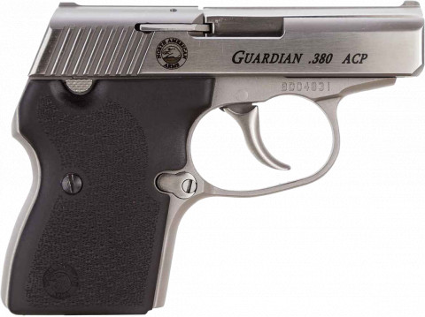 North American Arms Guardian 380 facing right