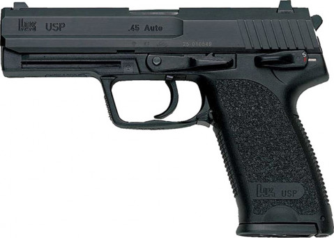 Heckler & Koch USP 45 facing left