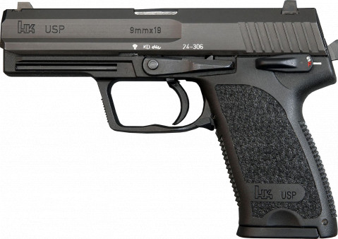 Heckler & Koch USP facing left
