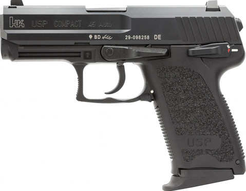 Heckler & Koch USP Compact 45 facing left