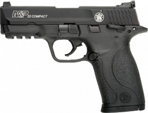 Smith & Wesson M&P 22 Compact facing left