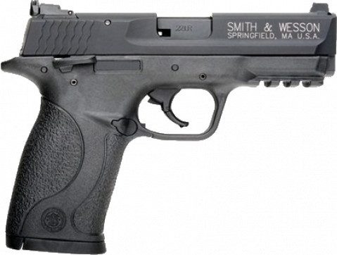 Smith & Wesson M&P 22 Compact facing right