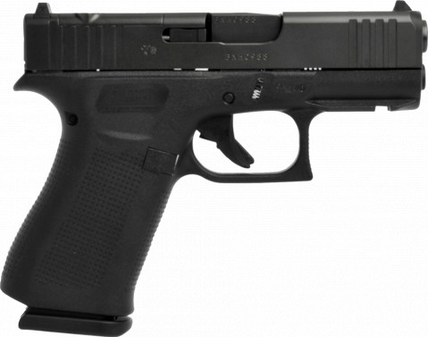 Glock G43X MOS facing right