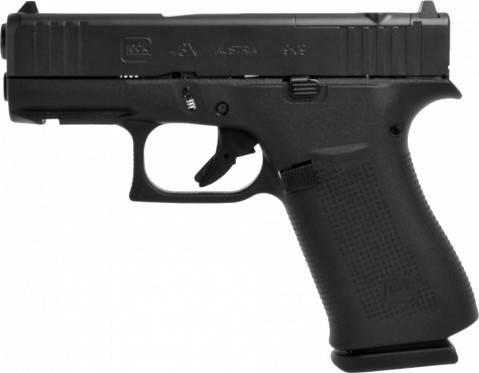 Glock G43X MOS facing left