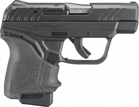 Ruger LCP II 22LR facing right