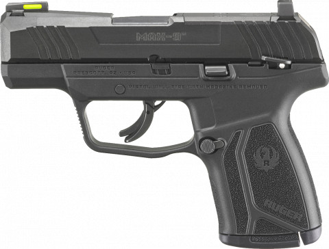 Ruger Max-9 facing left