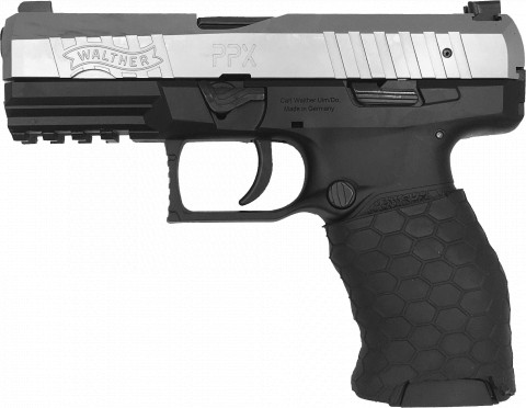 Walther PPX facing left