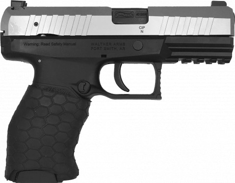 Walther PPX facing right