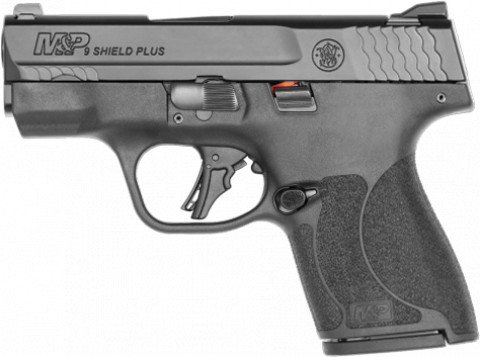 Smith & Wesson M&P 9 Shield Plus facing left