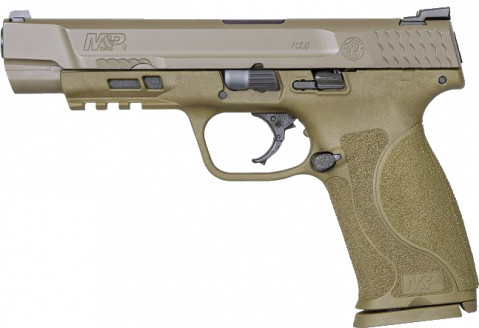 "Smith & Wesson M&P 9 M2.0 5"" facing left"