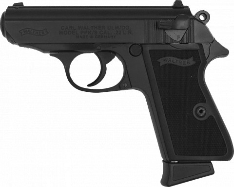 Walther PPK/s 22 facing left