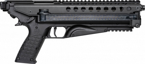 Kel-Tec P50 facing right
