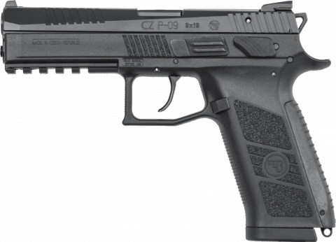 CZ P-09 facing left