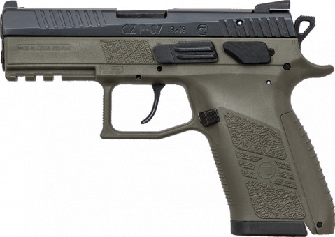CZ P-07 facing left