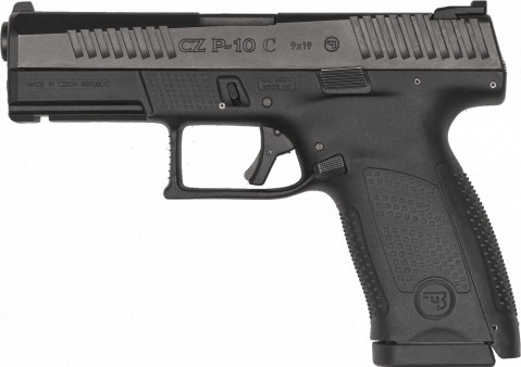 CZ P-10 C facing left