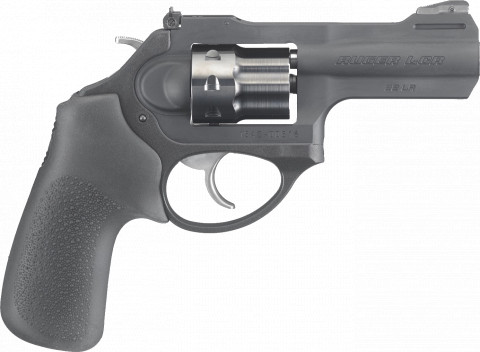 Ruger LCRx 22LR facing right