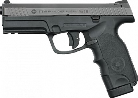 Steyr Arms L9-A1 facing left