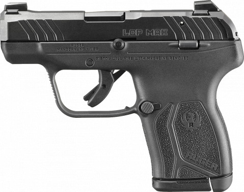 Ruger LCP MAX facing left