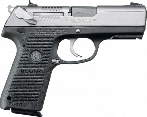 Ruger P95 facing right