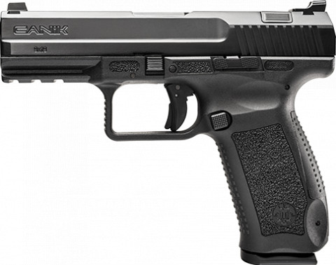 Canik TP9DA facing left