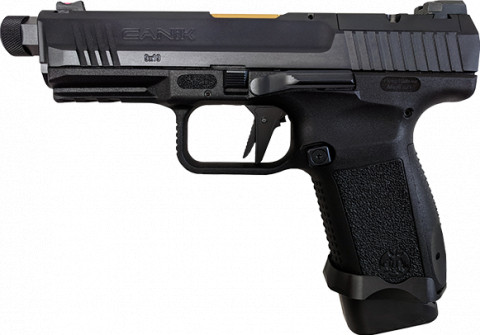 Canik TP9 Elite Combat facing left