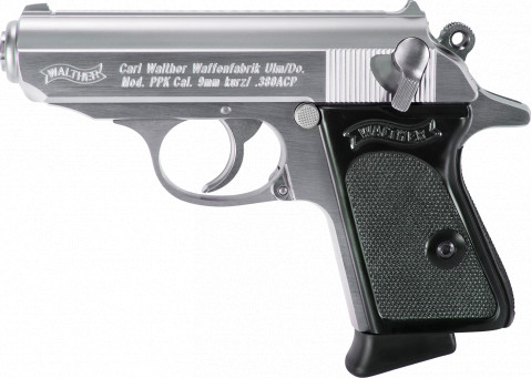 Walther PPK facing left